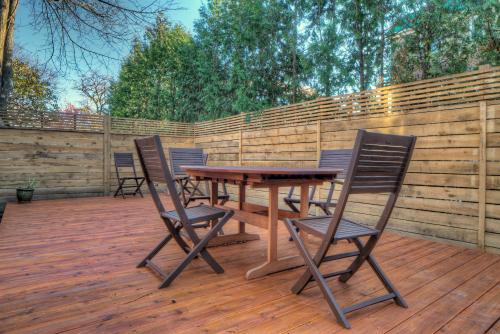 Terrasse et clôture
